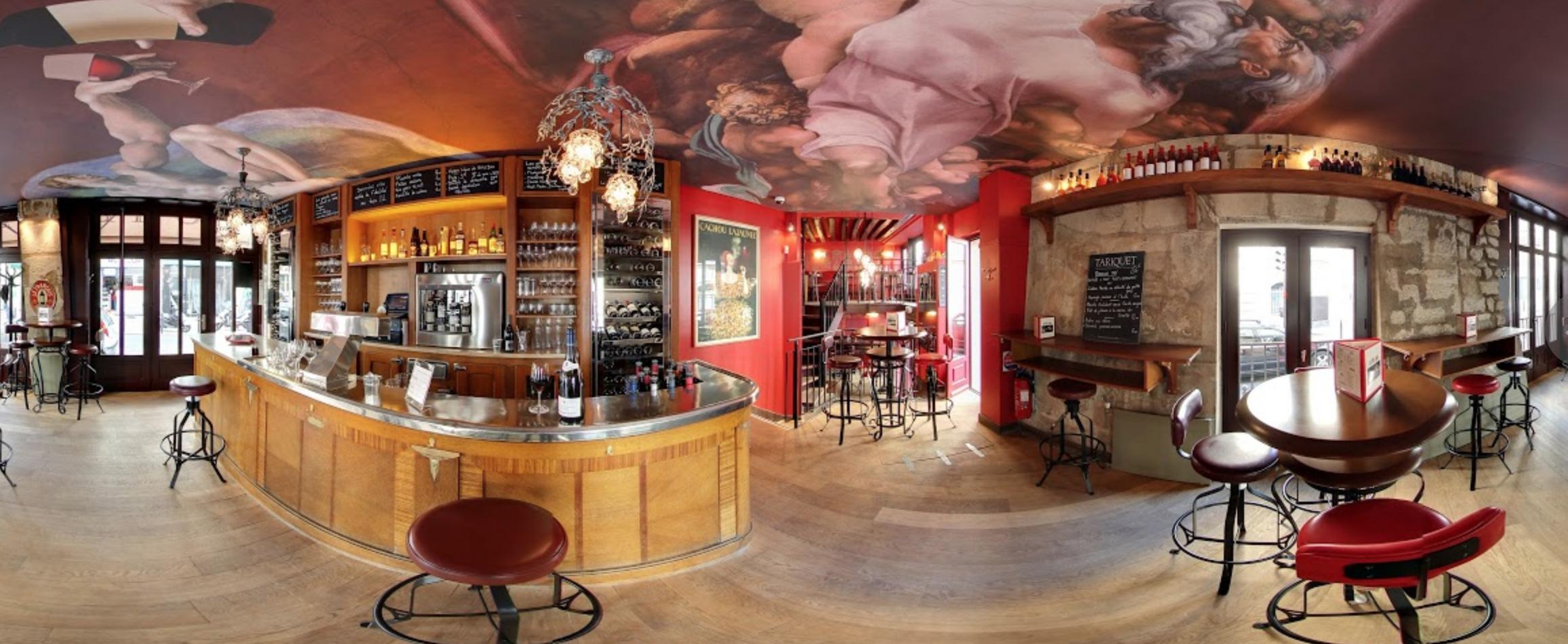 Restaurant à Vins Au père louis situé à Paris 6